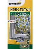 Schellenberg 51010 Insektenschutz 130 x 150 cm Junior mit bunten Motiven Fliegengitter für Kinderzimmer